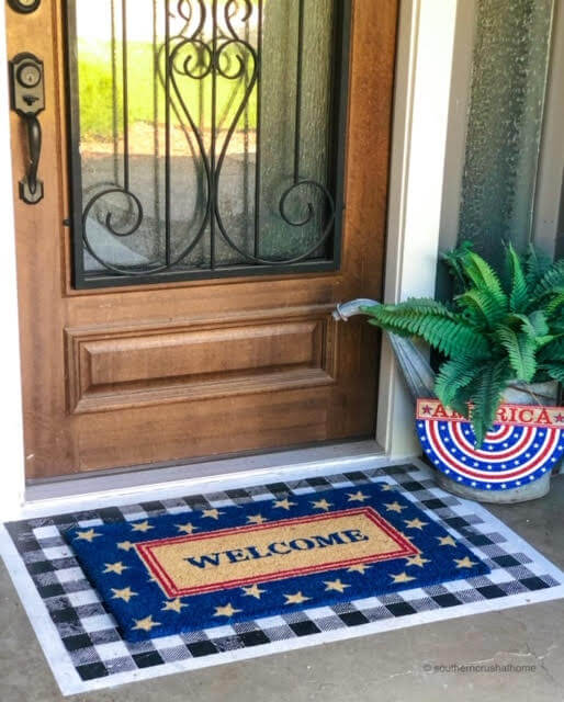 painted-diy-doormat-patriotic