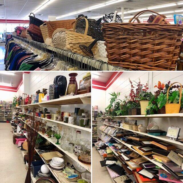 vintage easter bunny basket giveaway thrift store finds