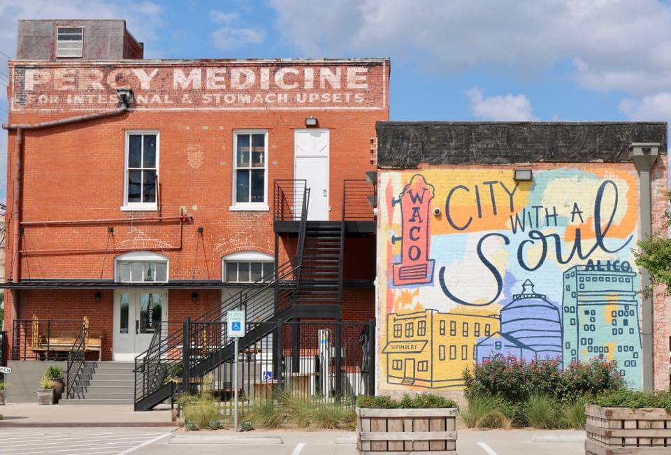 The Findery Waco TX Selfie Wall City with a Soul