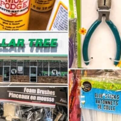 12 Must Have Dollar Tree Craft Supplies for Any DIY Project