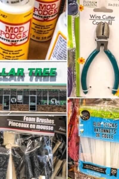 dollar tree supplies