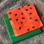 diy-watermelon-coasters-napkin-placement