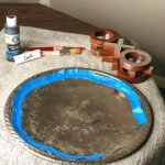 diy-thrift-store-silver-tray-chalkboard-taped-off