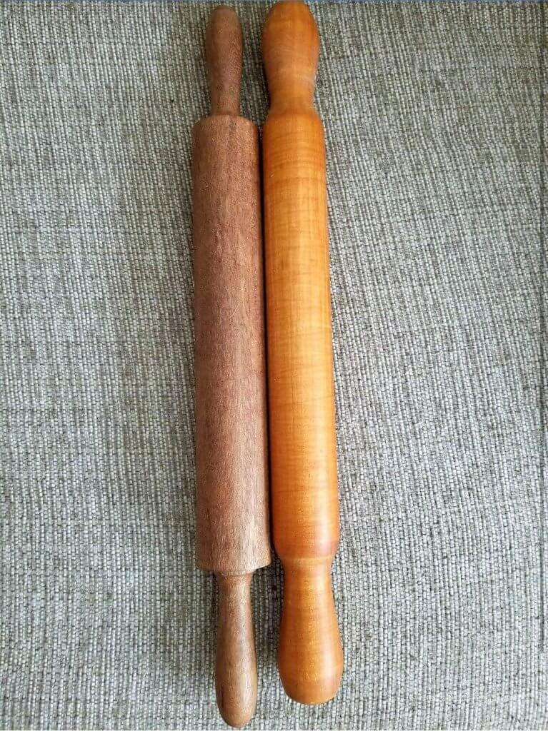 wooden vintage rolling pins