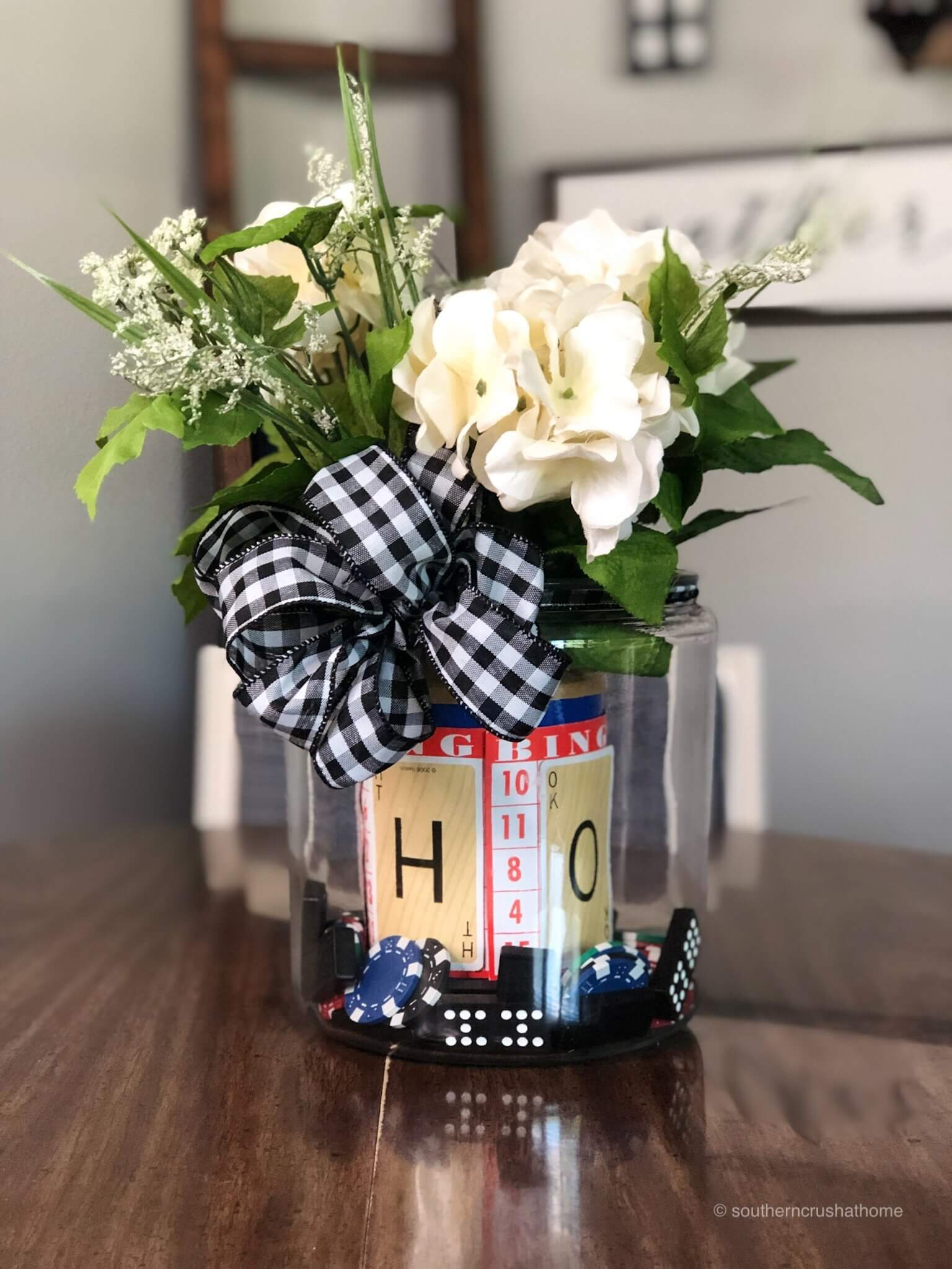 Game Night Centerpiece DIY