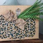 DIY Leopard Pumpkin