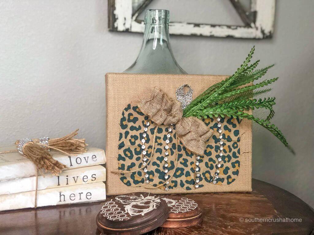 Fancy-rhinestone-leopard-pumpkin-falll-decor-bow