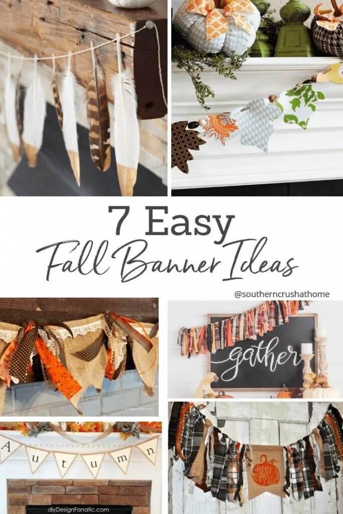 7 easy fall banner ideas