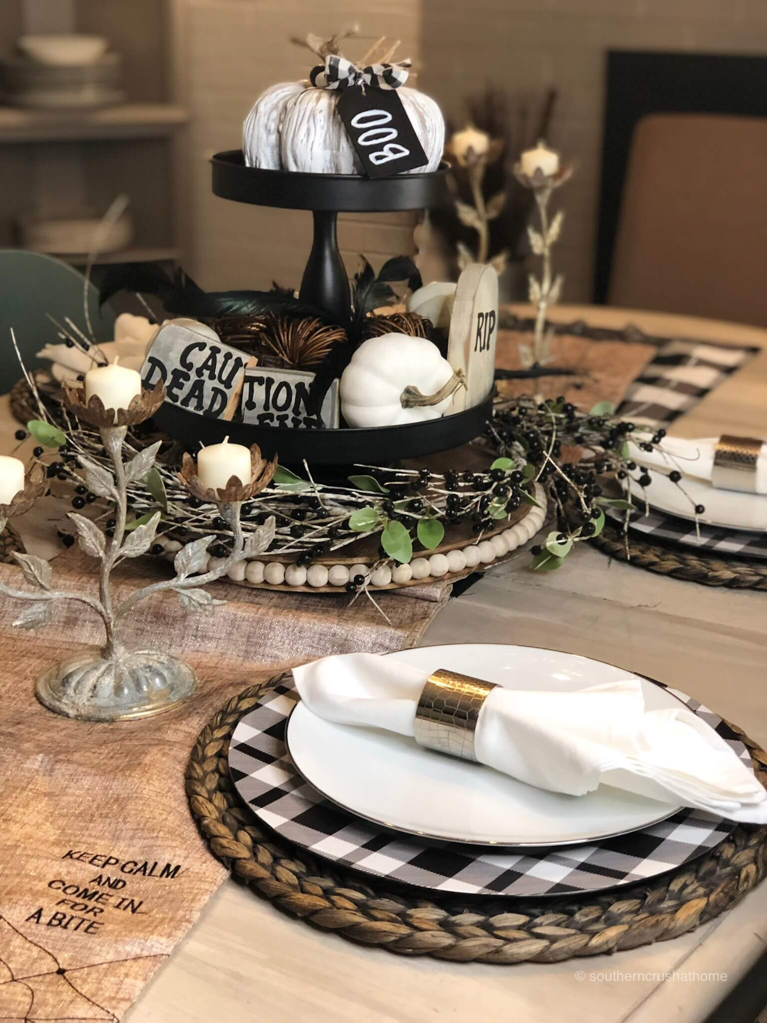 Buffalo-Check-Halloween-Tablescape-16