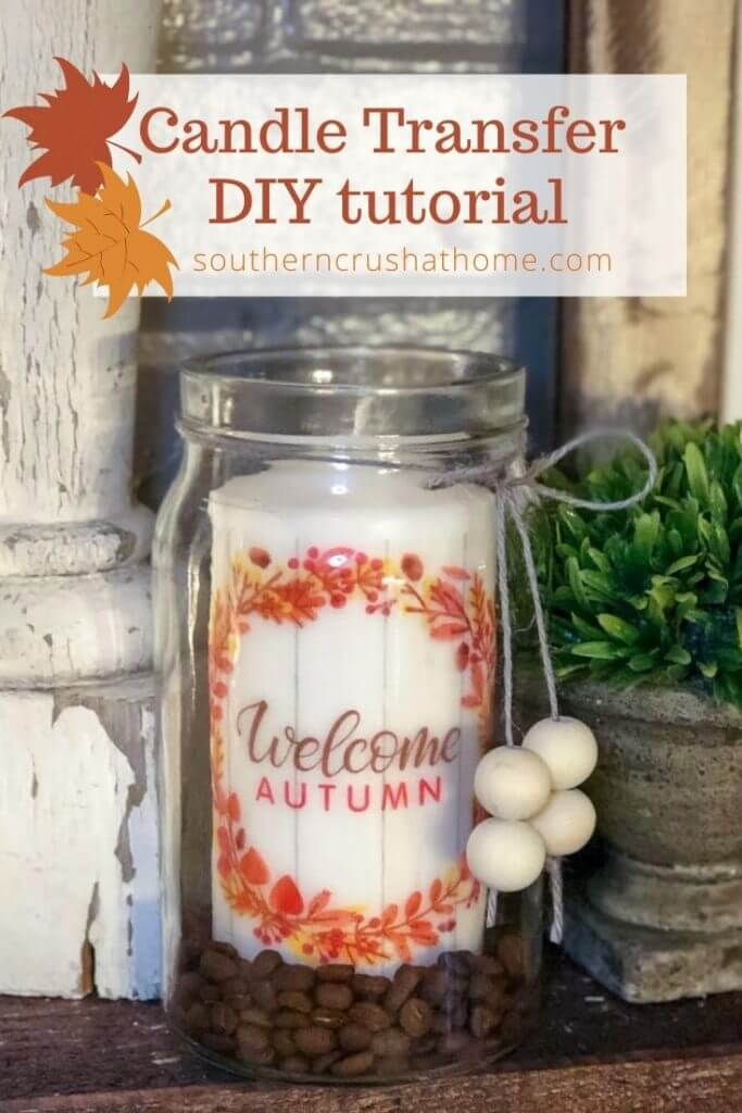 Candle Transfer DIY Pin