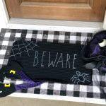 Halloween-stenciled-doormat-diy-overhead