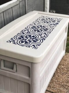 Pool Storage Box DIY