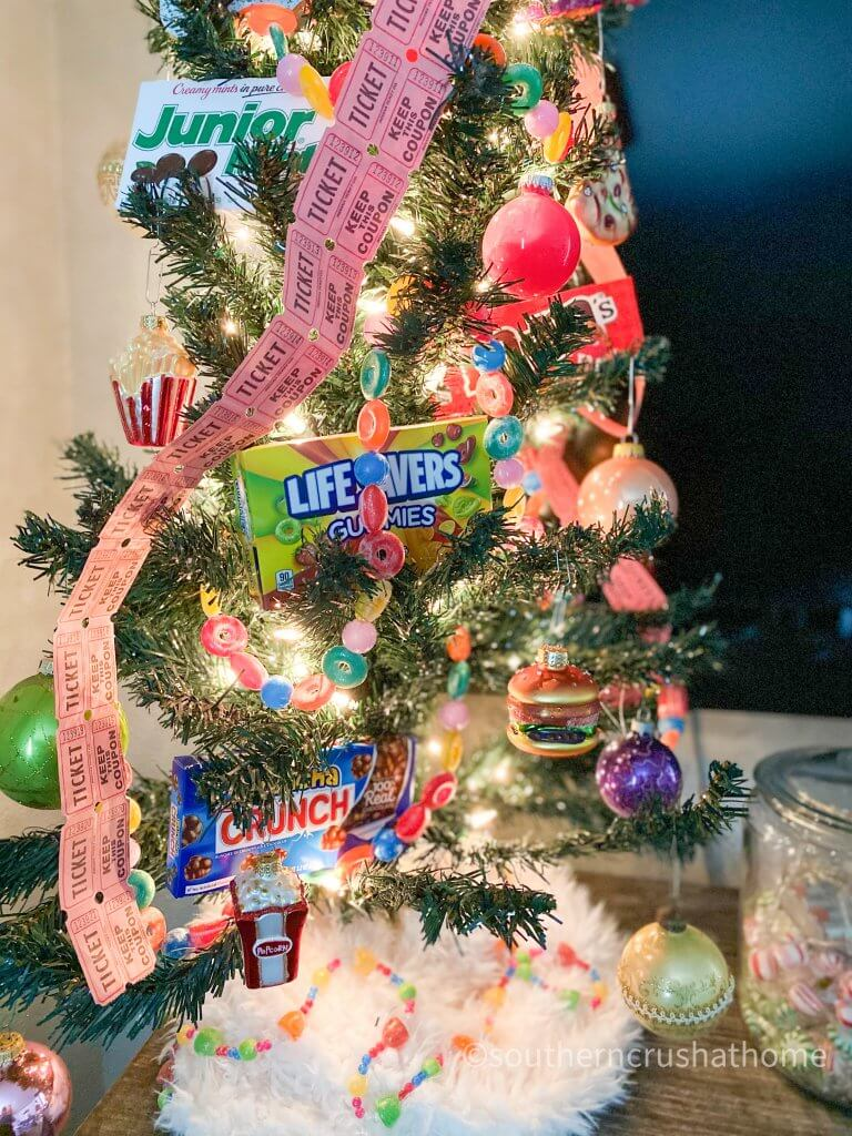 movie theater themed Christmas Tree