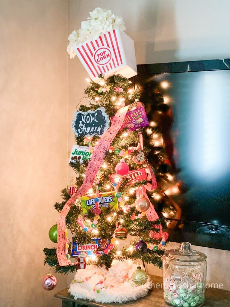Christmas tree theme - movie theater