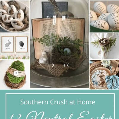 12 Neutral Easter DIY Decorating Ideas