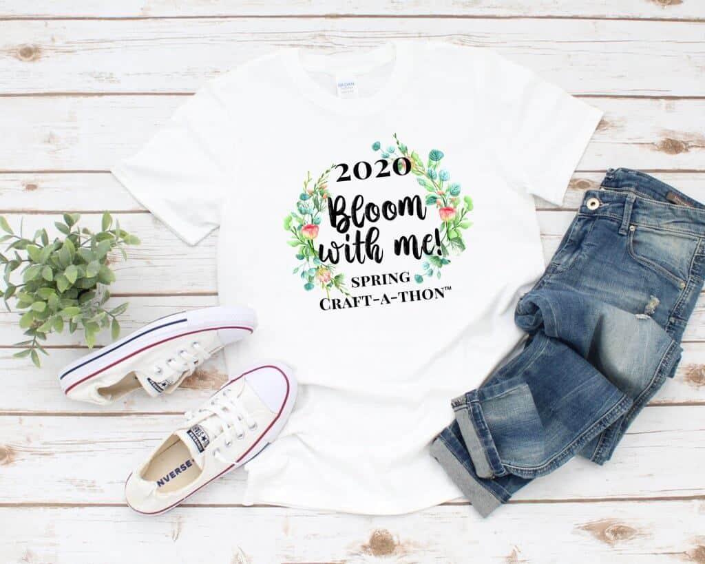Spring Craft-a-thon T-shirt