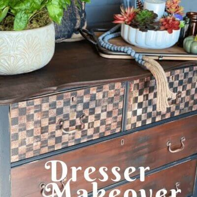 Simple DIY Dresser Makeover