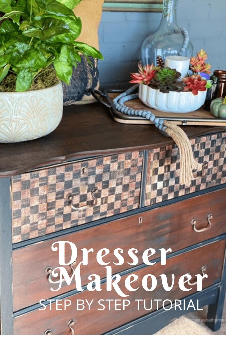 Simple DIY Dresser Makeover