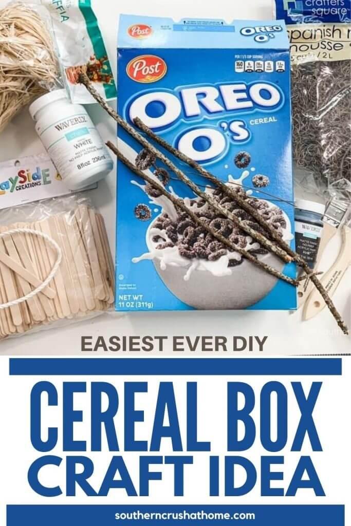 Cereal Box Craft Idea