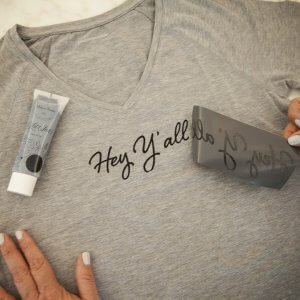 a makers studio gel art ink t-shirt