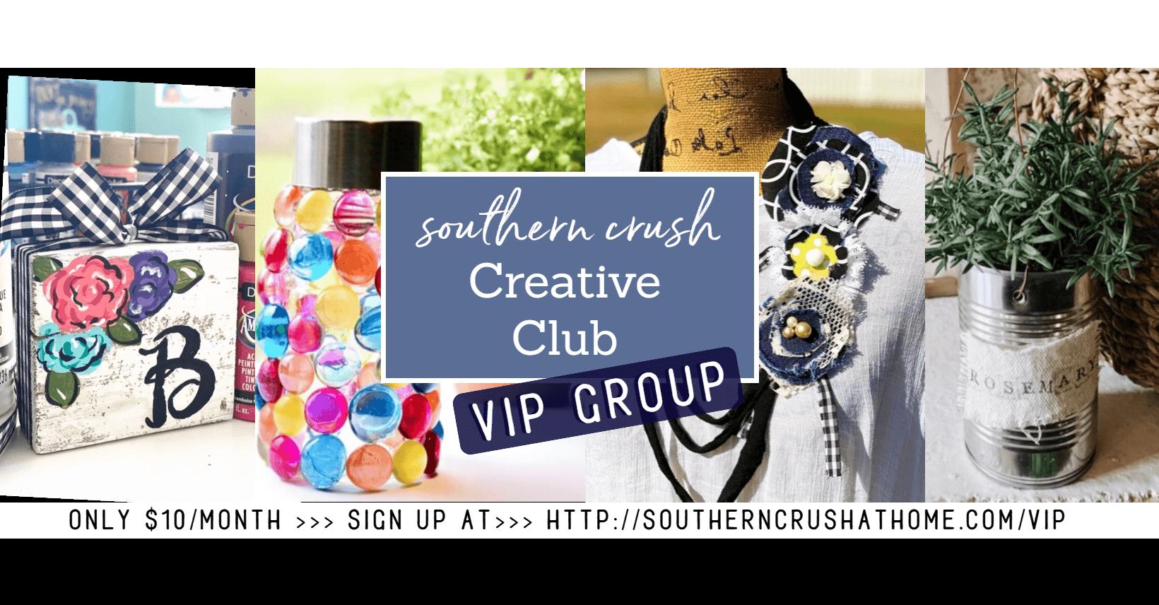 Southern Crush Creative Club VIP group cover