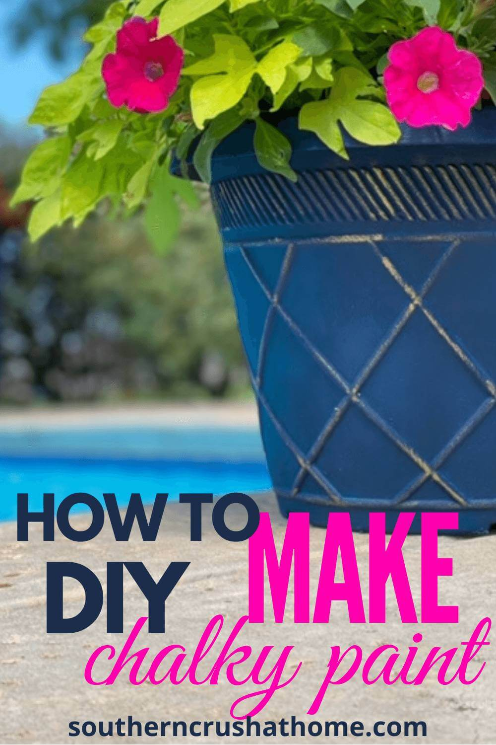 How to make DIY Chalky Paint