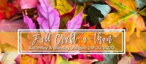 Fall Craft-a-thon LOGO