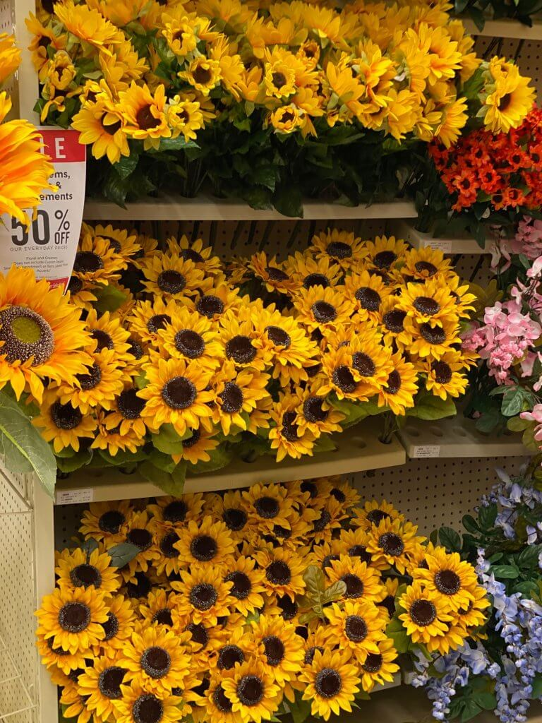 hobby lobby sale florals