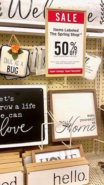 Hobby Lobby Sale Sign