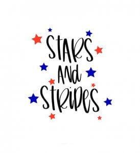 Freebie Friday-Stars & Stripes