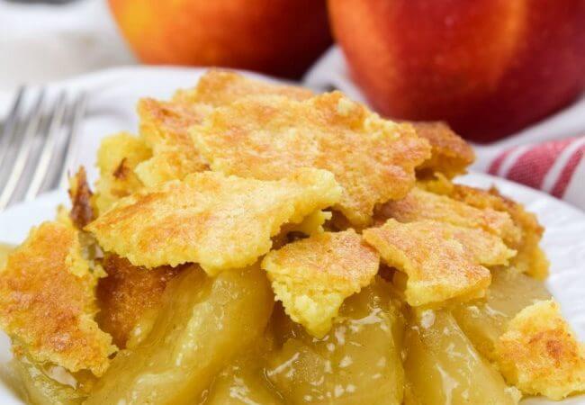 All American Apple Pie Dump Cake