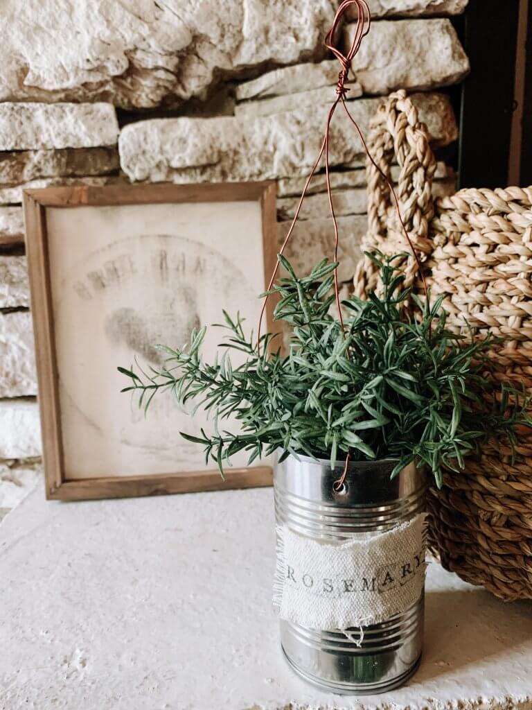 DIY Hanging Herb Planter Styled