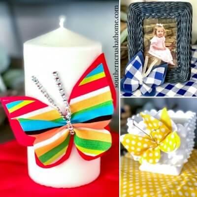 Tutorial: DIY Scrap Fabric Butterfly + FREE Pattern