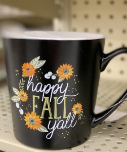 Hobby Lobby Fall Decor Tour 2020 fall mug