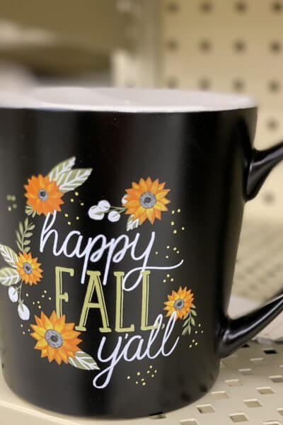 Hobby Lobby Fall Decor Tour 2020 fall mug
