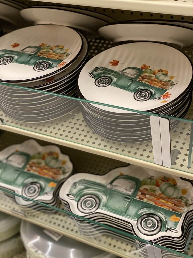 Hobby Lobby Fall Decor Tour 2020 vintage truck plates