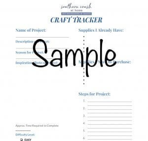 Southern Crush Craft Tracker