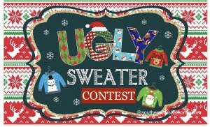 Christmas in July Ugly Sweater Contest