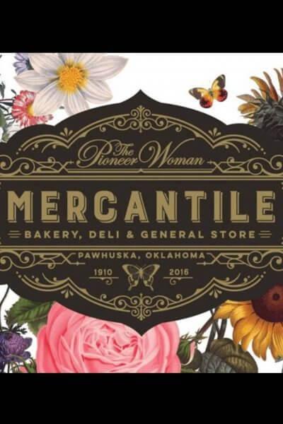 pioneer woman mercantile logo