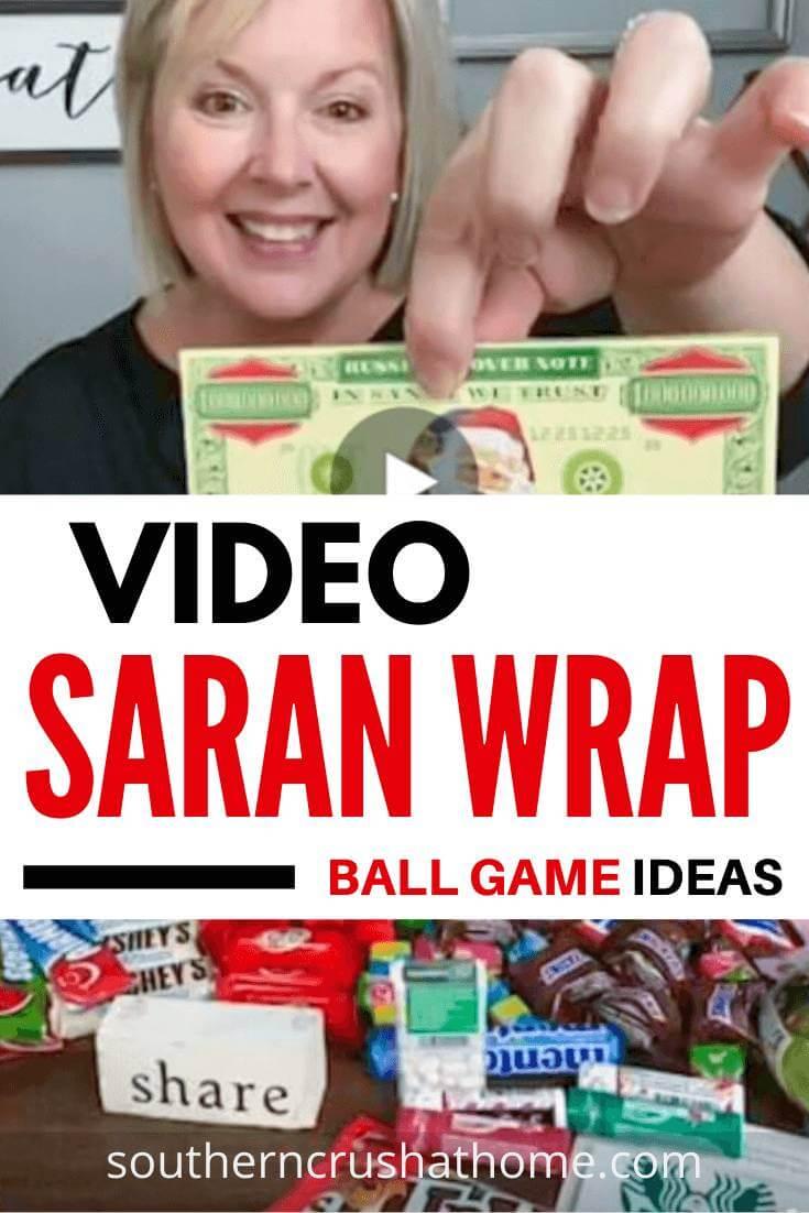 Saran Wrap Ball Game Pin
