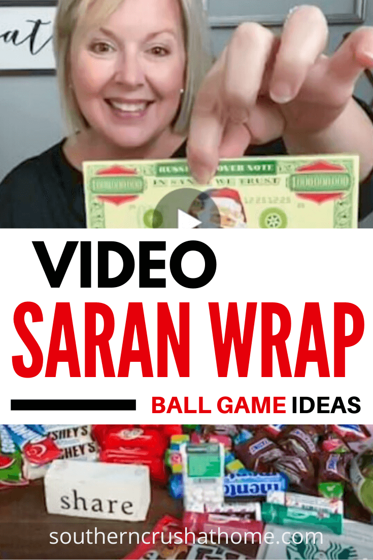 Saran Wrap Ball Game Pin