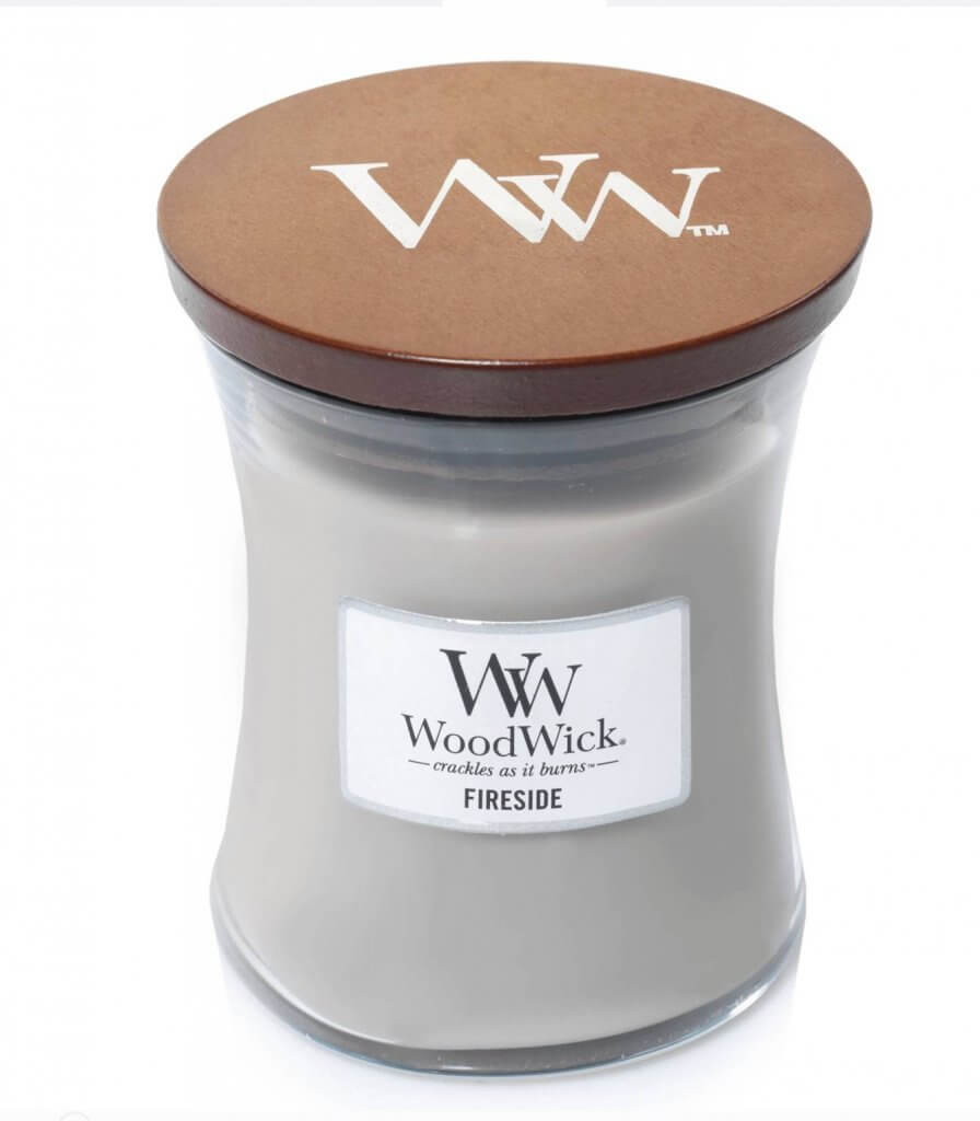 Woodwick Fall Fireside Scented Wood Wick Crackling Candle