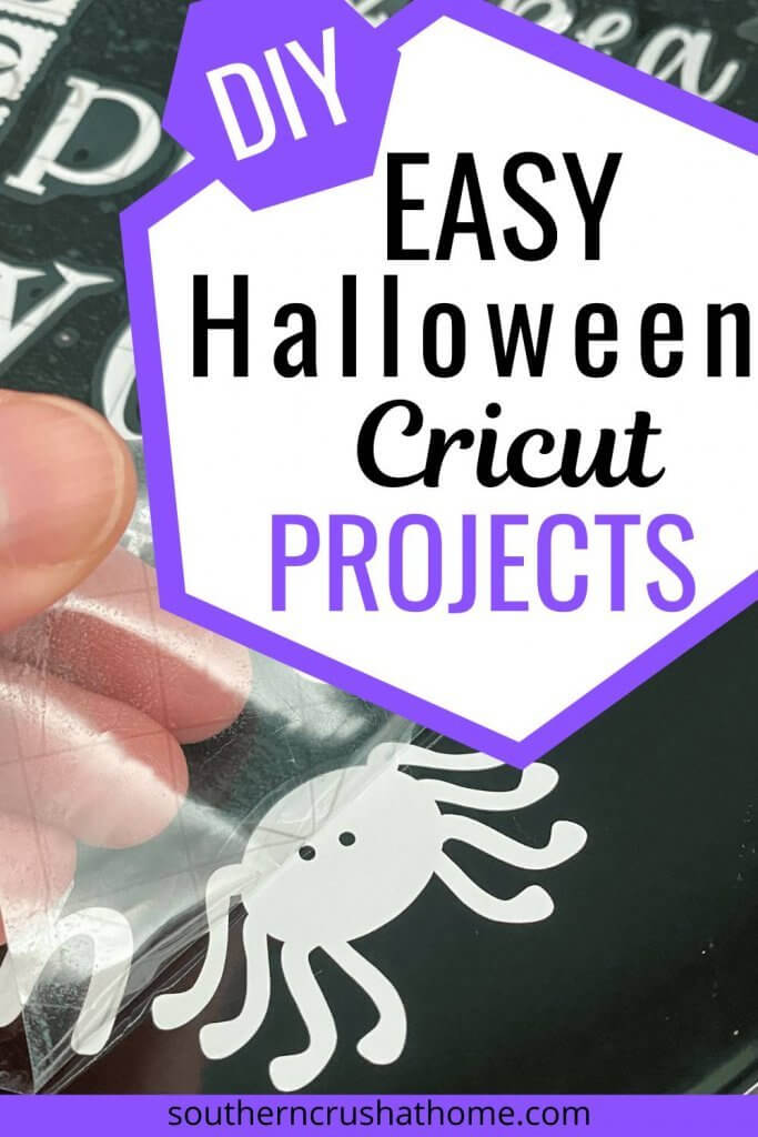 Easy Halloween Cricut Projects Pin