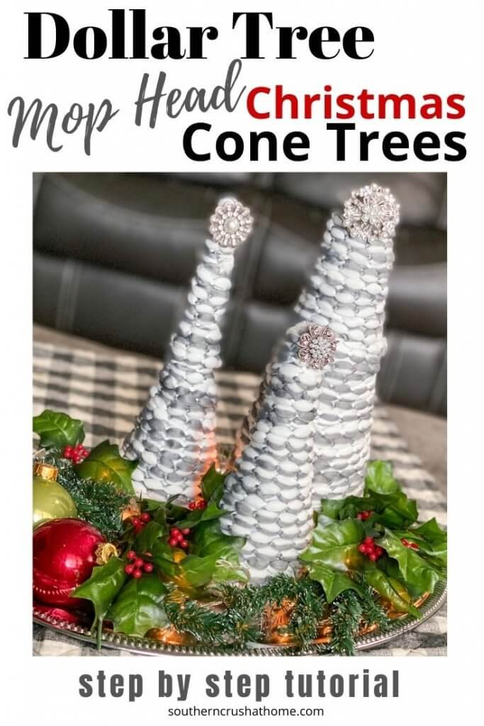 Christmas Cone Trees Pin