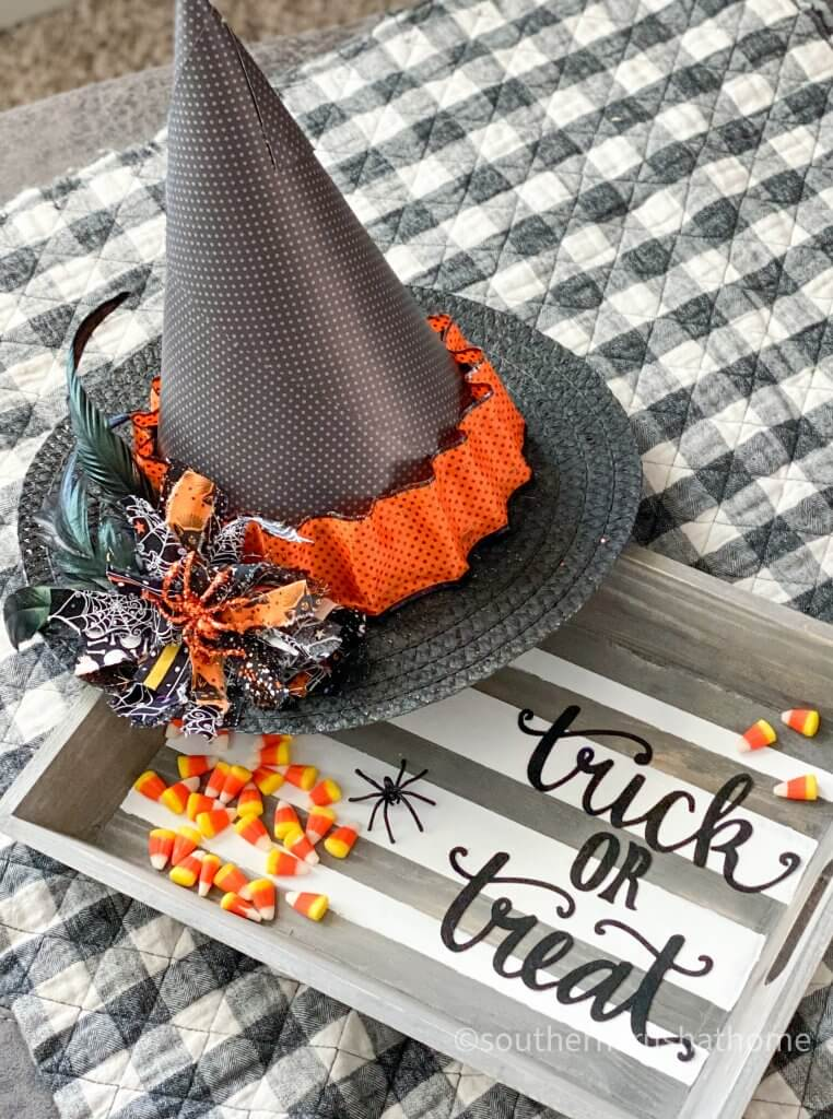 Halloween Witch Hat DIY