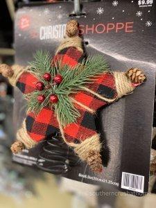 Hobby Lobby Christmas Decor Tour plaid topper