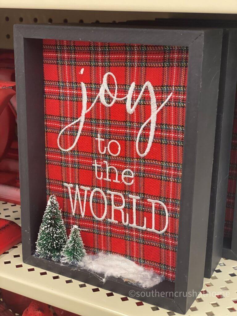 Hobby Lobby Christmas Decor Tour Joy to the World