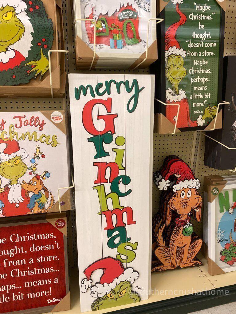 Hobby Lobby Christmas Decor Tour Grinch