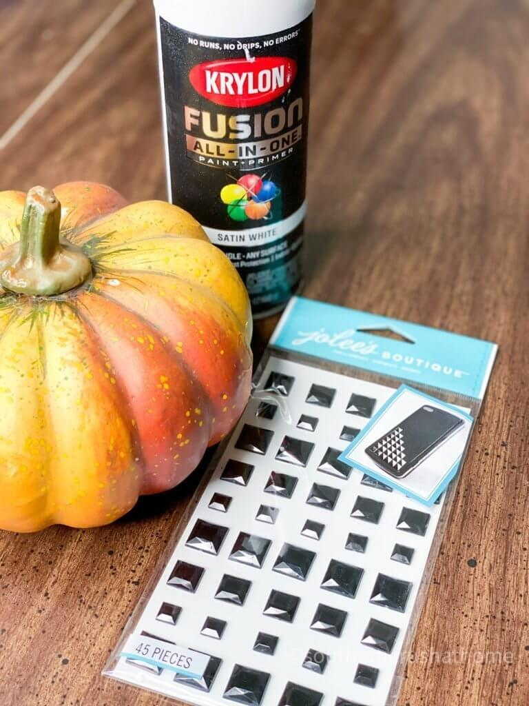 modern mosaic pumpkin supplies