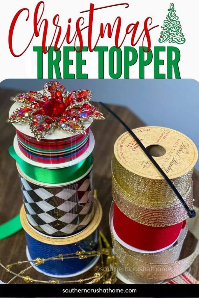 Christmas Tree Topper idea pin